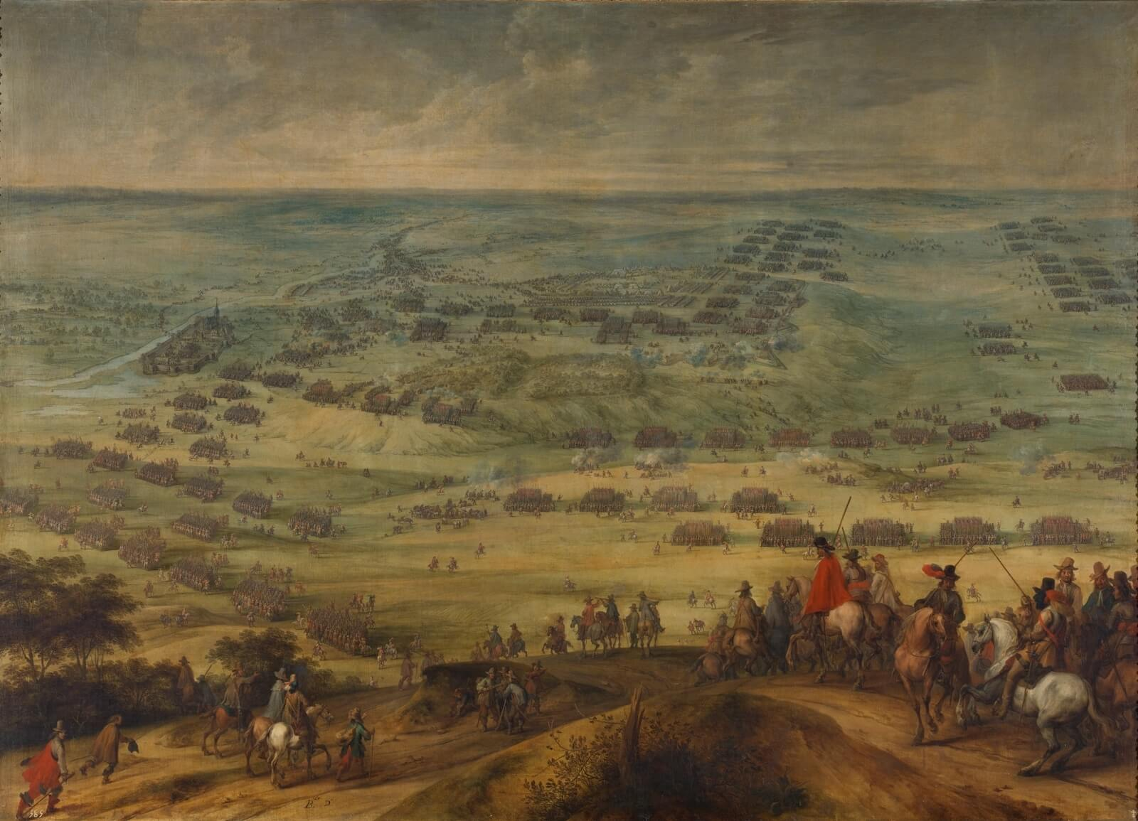 La batalla de Honnecourt Pieter Snayers