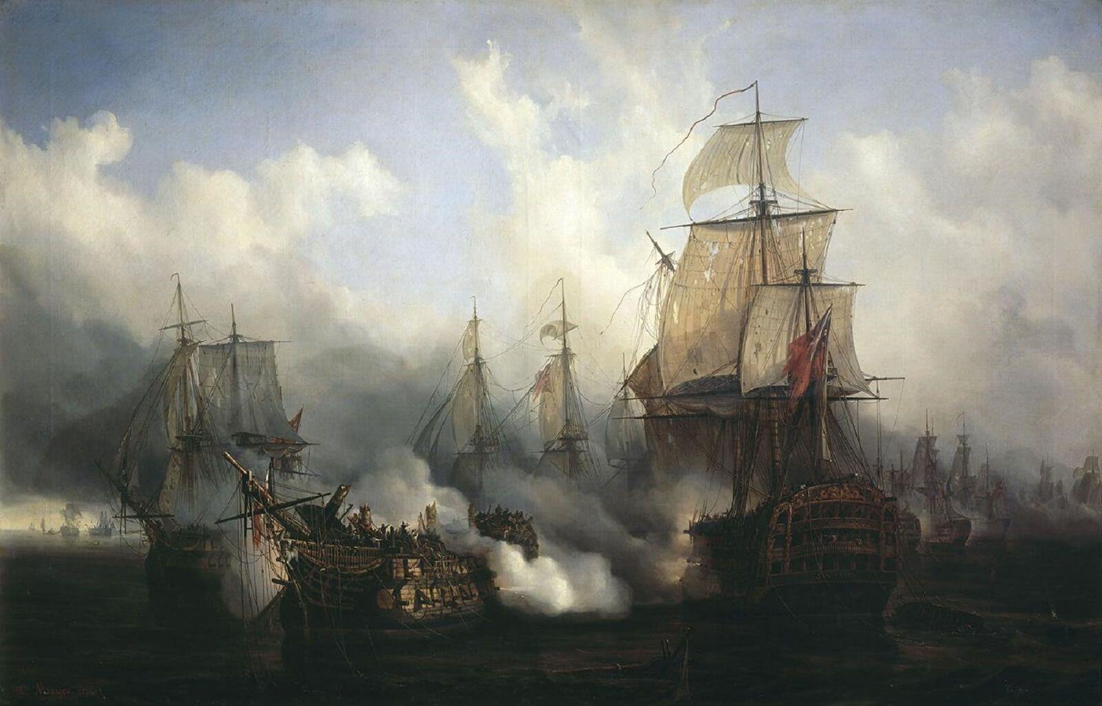 Gravina batalla de Trafalgar