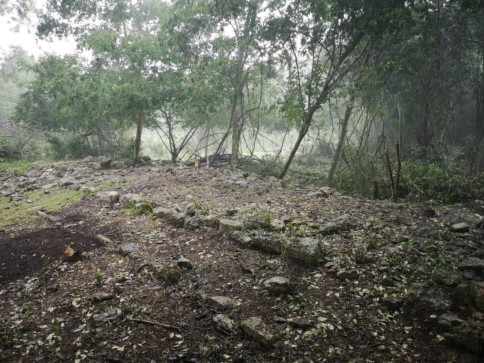 ciudad maya de Xbaatun