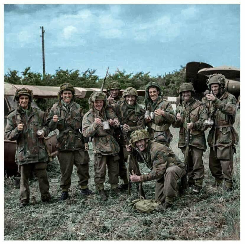 Regimiento paracaidistas 12.º de Yorkshire Lucio Sauquillo Normandía Día D