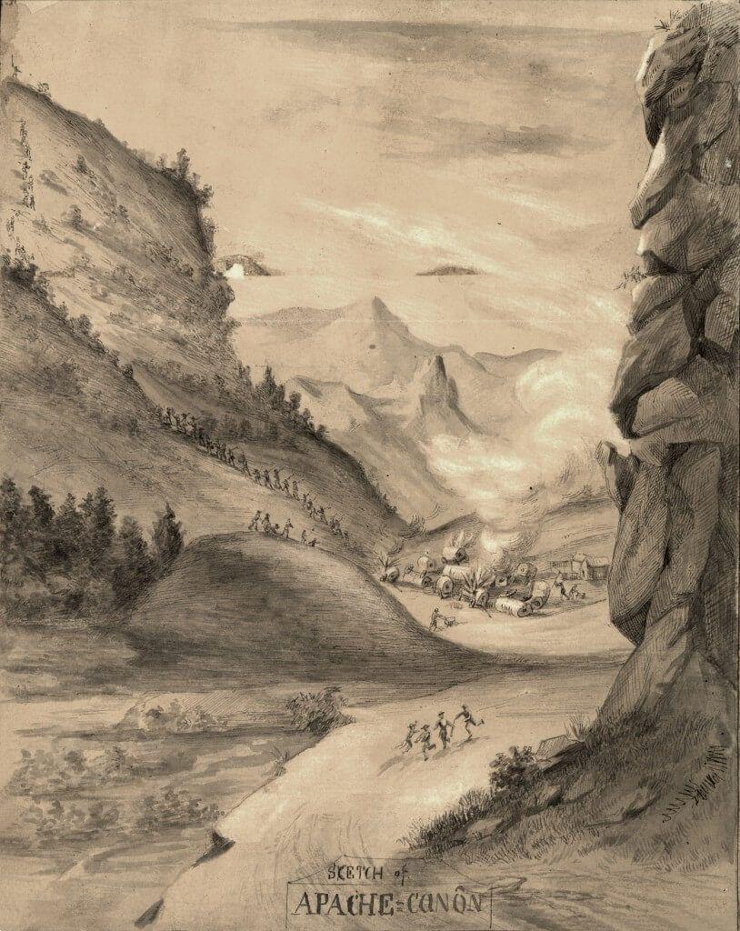 Apache canyon chivington batalla de glorieta