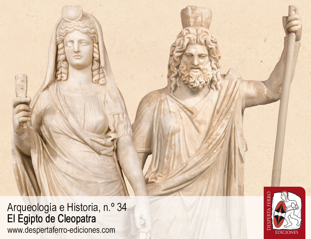 El sincretismo religioso helenístico-egipcio. Isis, Serapis y la dinastía ptolemaica por Joaquín Ruiz de Arbulo (URV – ICAC)