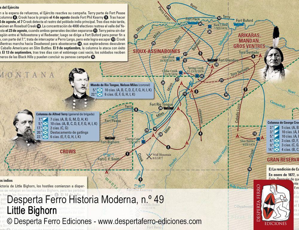 Las campañas que doblegaron a los sioux por Paul L. Hedren