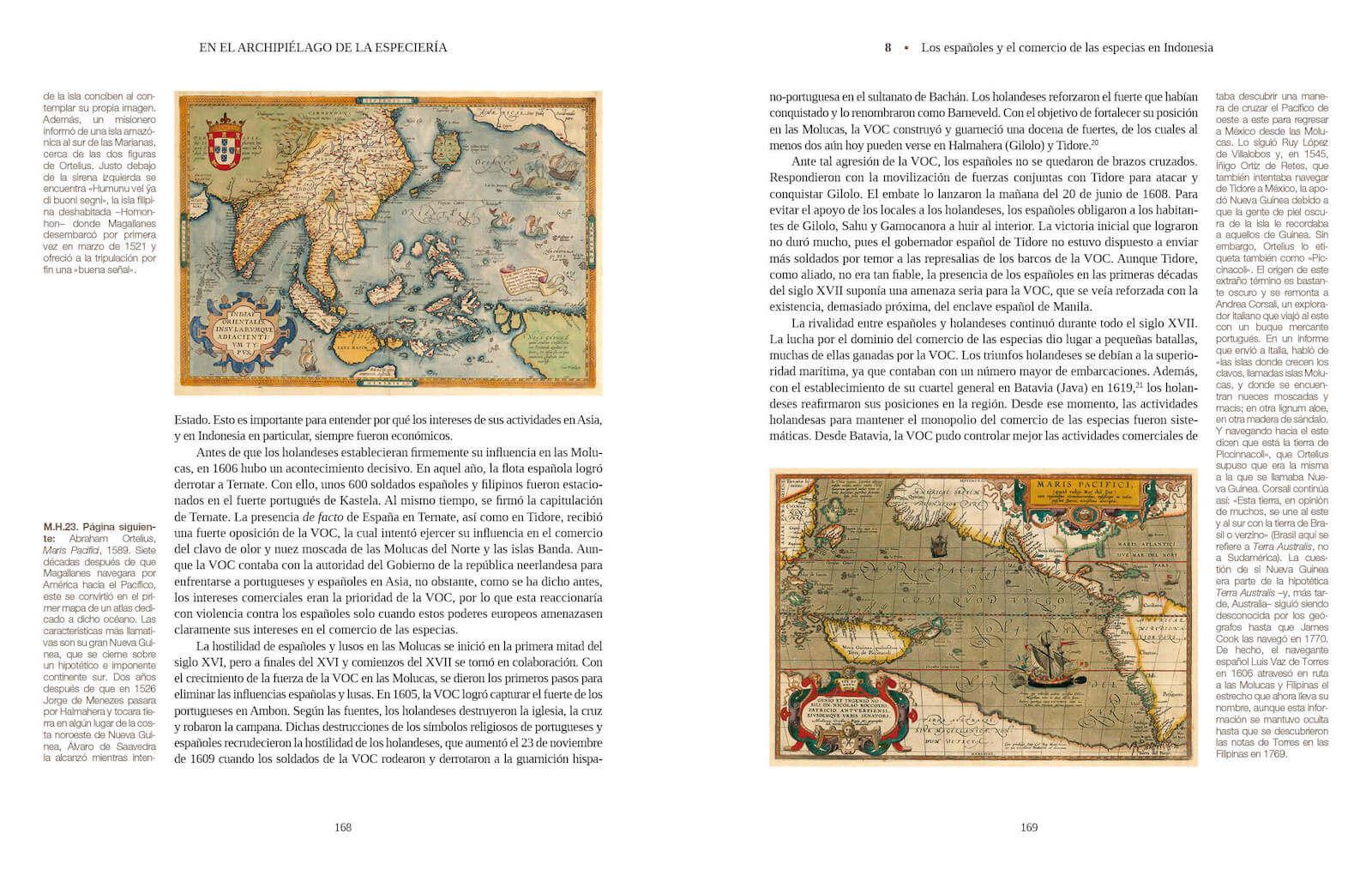 En el archipiélago de la Especiería España Molucas siglos XVI XVII