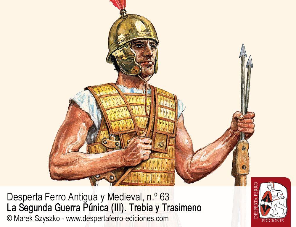 Los etruscos y las legiones romanas por Michael J. Taylor (State University of New York)