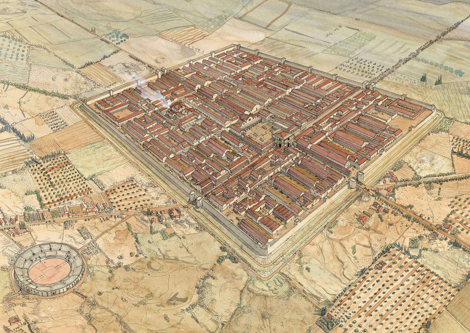 Ingenieria Ejército romano Golvin