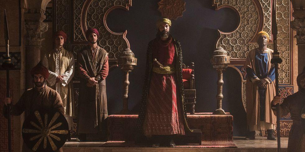 Al-Muqtádir de Zaragoza El Cid serie Amazon