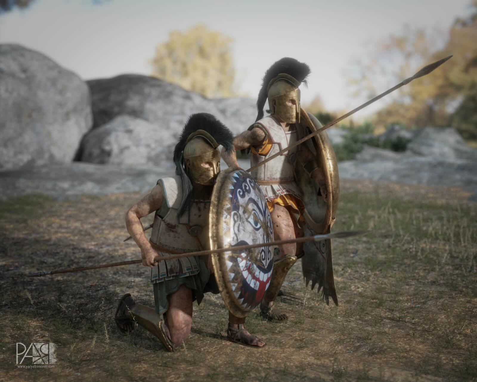 Holplitas griegos guerras médicas