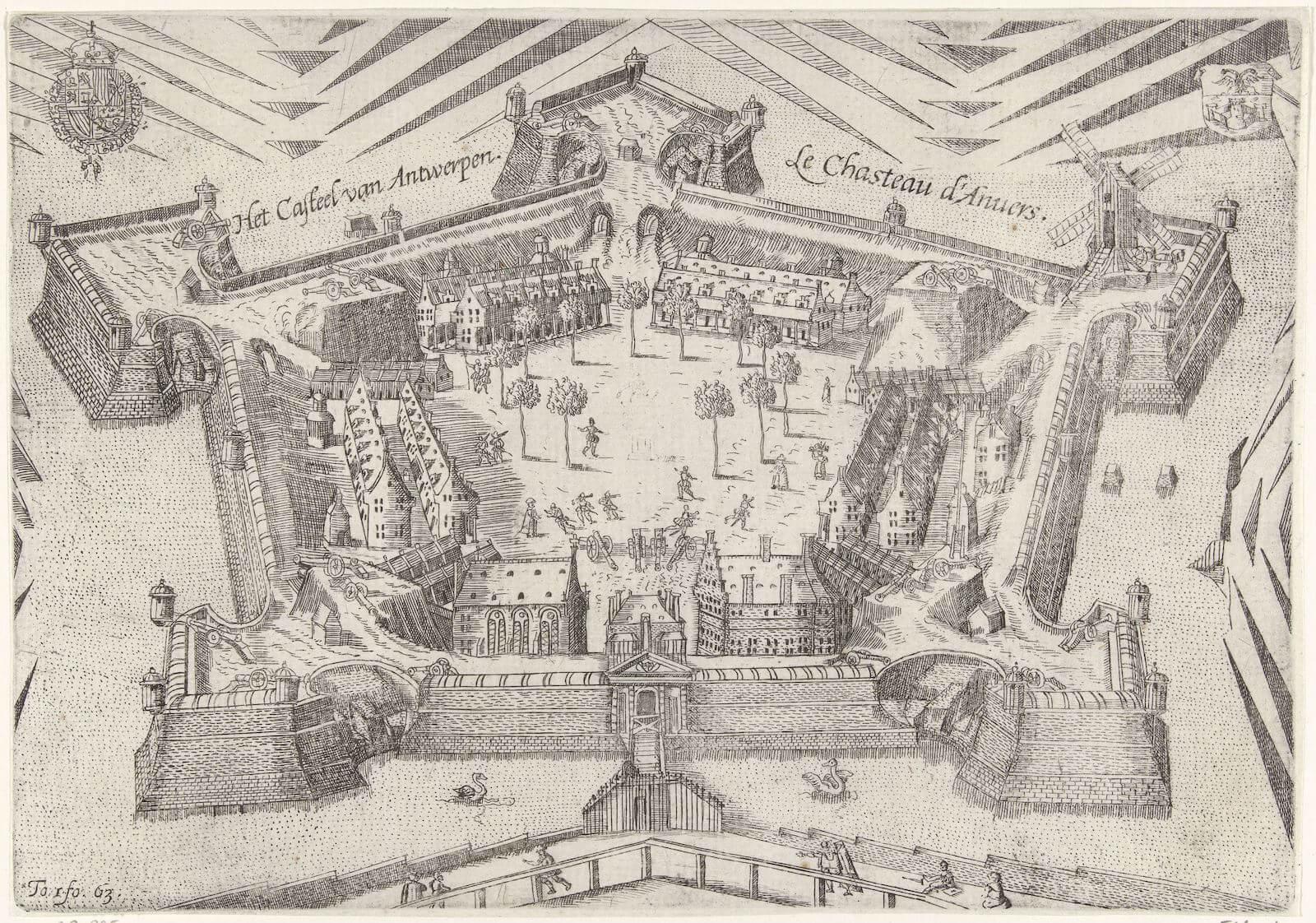 ciudadela de Amberes fortificación Flandes