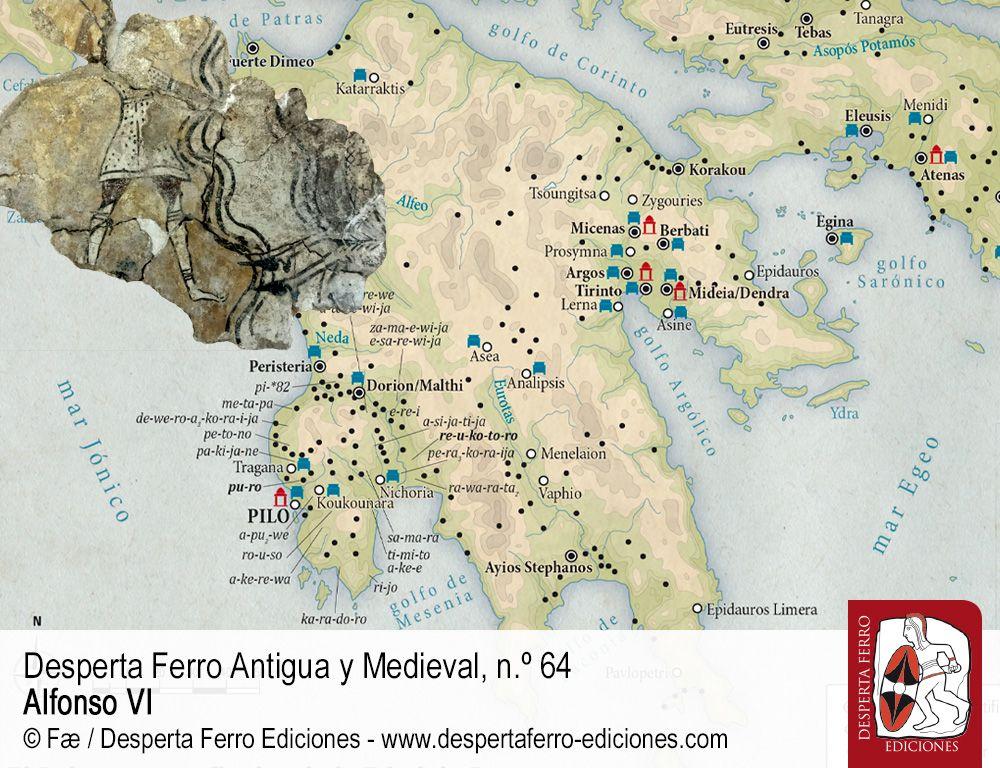 El ocaso del mundo micénico y la caída de Pilo por Claudia Alonso (Universitat Oberta de Catalunya)
