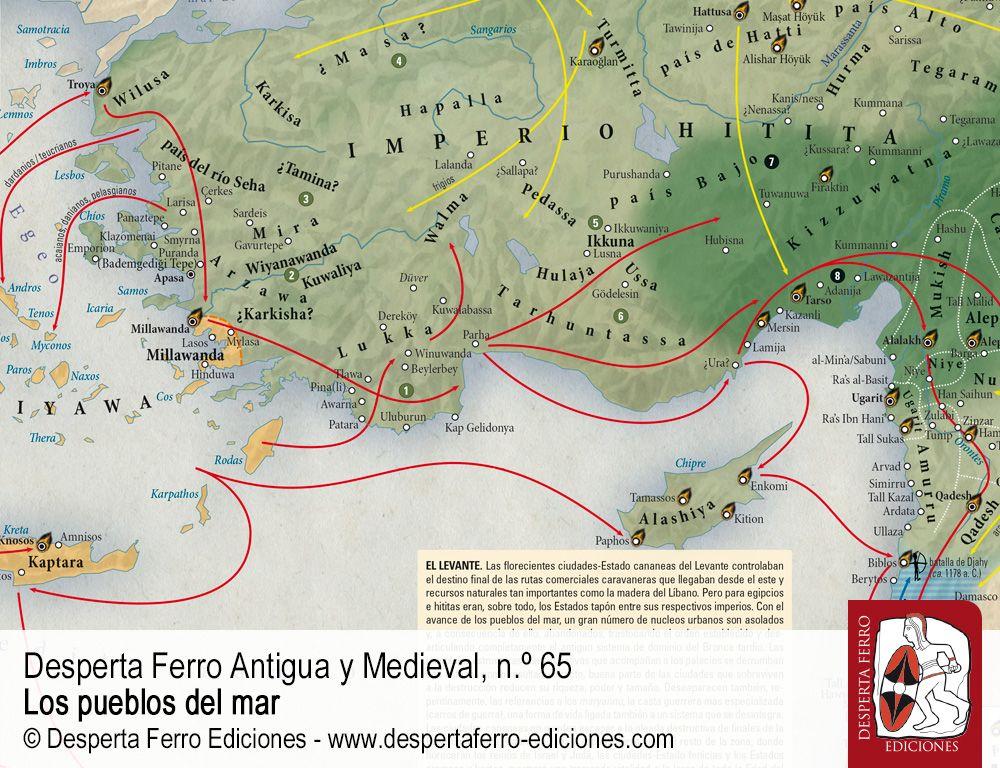 Del Egeo a Canaán. El periplo de los pueblos del mar por Claudia Alonso (Universitat Oberta de Catalunya)