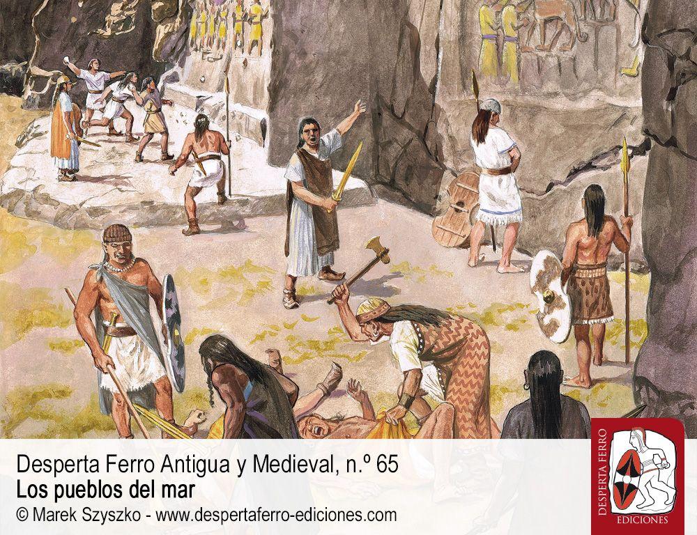 Un imperio en llamas. La caída de Hattusa y los pueblos del mar por Juan Antonio Álvarez-Pedrosa (Universidad Complutense de Madrid)