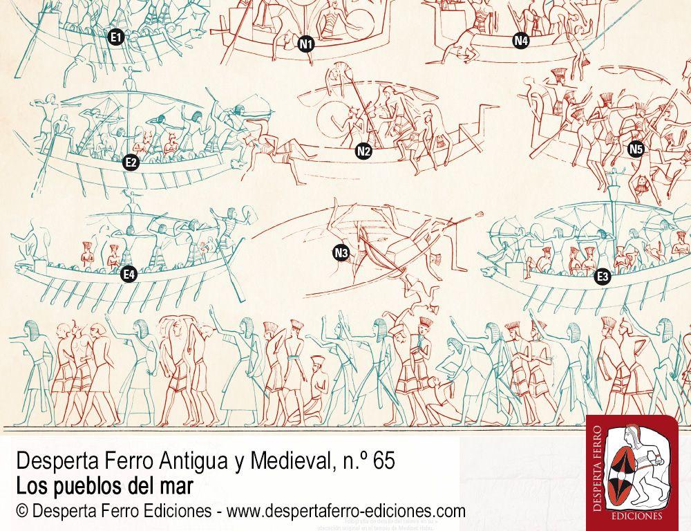 """La batalla naval de Ramsés III contra los """"pueblos del mar"""" por Fernando Quesada Sanz (Universidad Autónoma de Madrid)"""