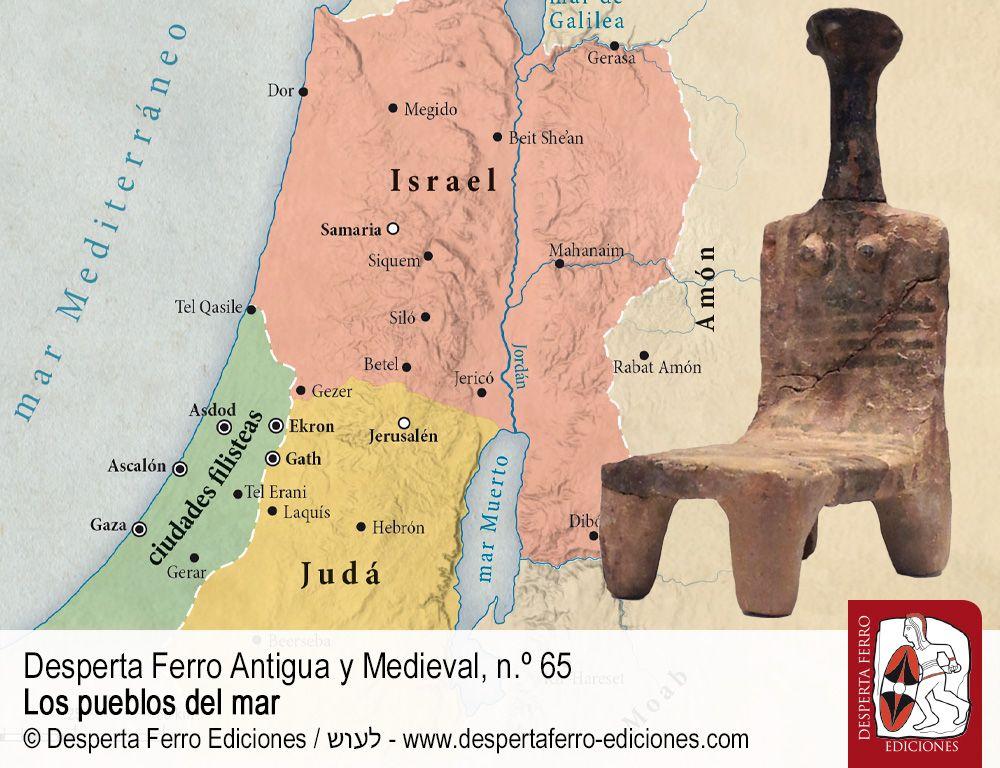 ¿Hijos de la tribulación? Filisteos y pueblos del mar a la luz de las excavaciones en Tell es-Safi (la antigua Gath) por Aren M. Maeir (Bar-Ilan University)