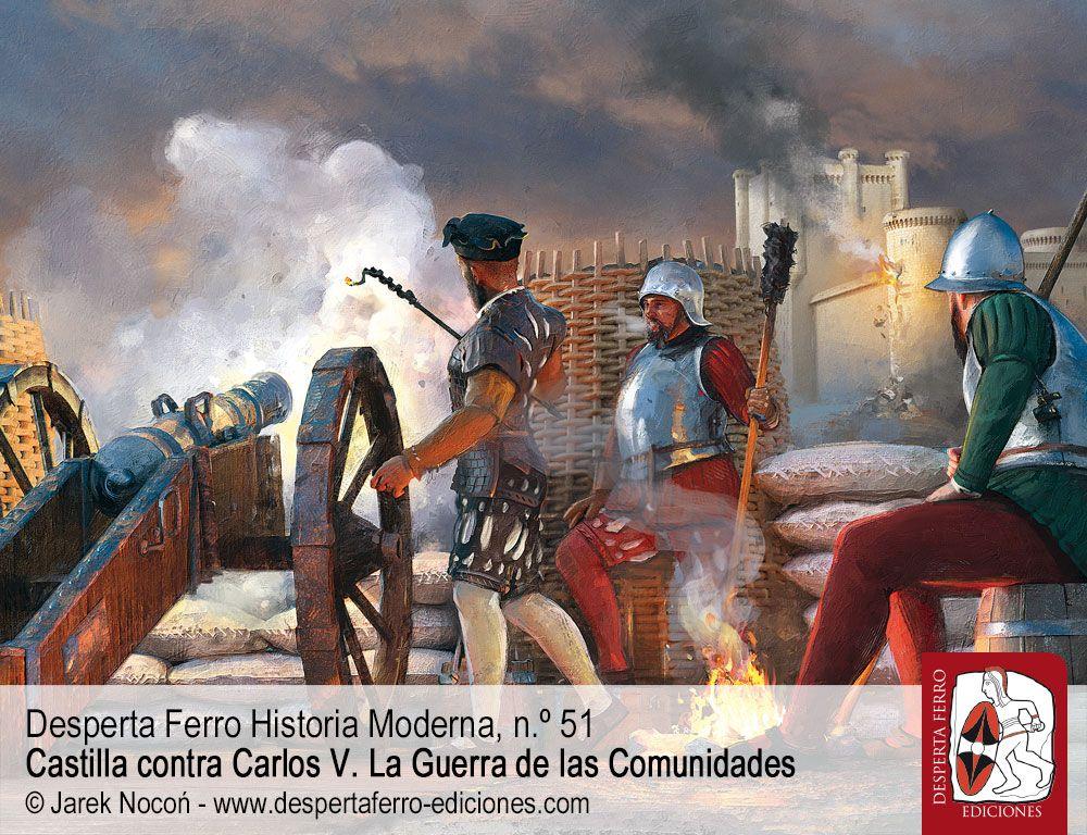 Las operaciones militares de la Guerra de las Comunidades por José Javier de Castro Fernández y Javier Mateo de Castro