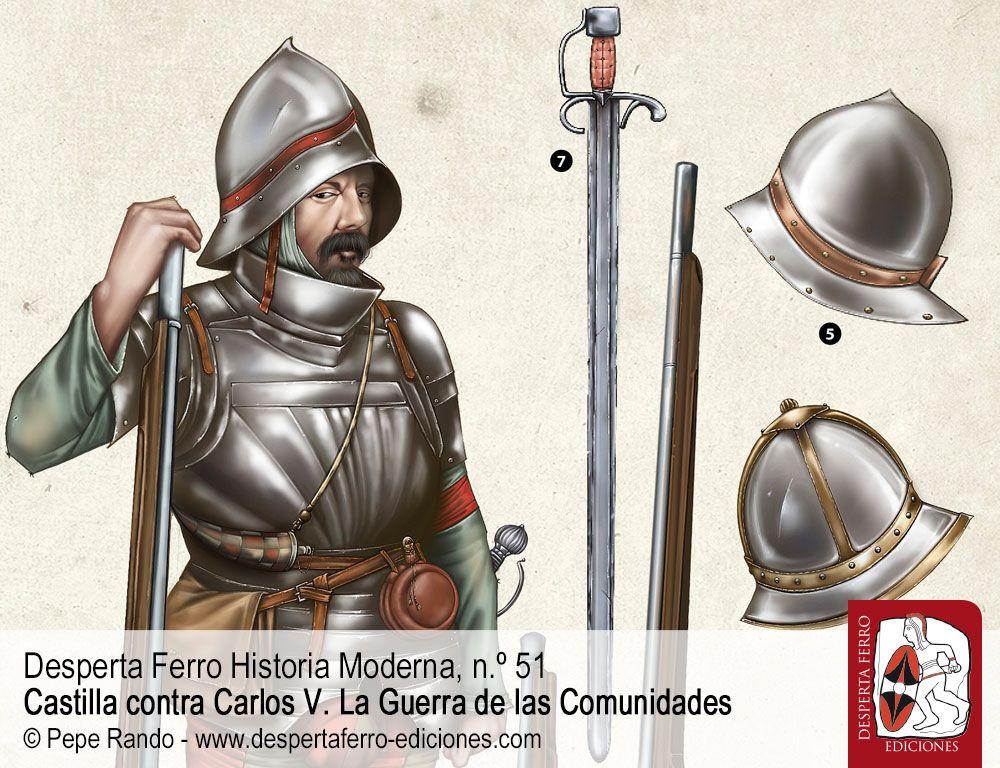 Realistas y comuneros. Ejércitos, armamento y tácticas por Ekaitz Etxeberria Gallastegi (Universidad del País Vasco)