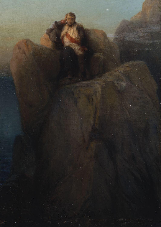 Napoleon en Santa Helena Delaroche