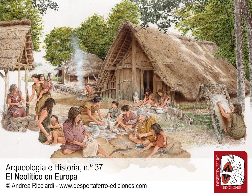 Las primeras agricultoras. Género y cambio social en el Neolítico antiguo por Alba Masclans y Ariadna Nieto Espinet (CSIC)