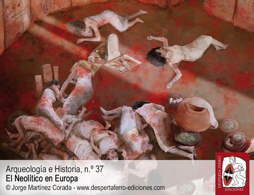 Ante la muerte. Las prácticas funerarias durante el Neolítico por Juan F. Gibaja (CSIC) y Primitiva Bueno (UAH)