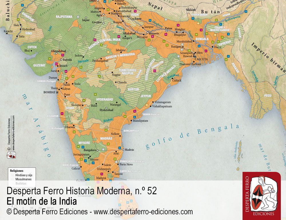 La Anarquía. El ascenso de la Compañía de las Indias Orientales por William Dalrymple