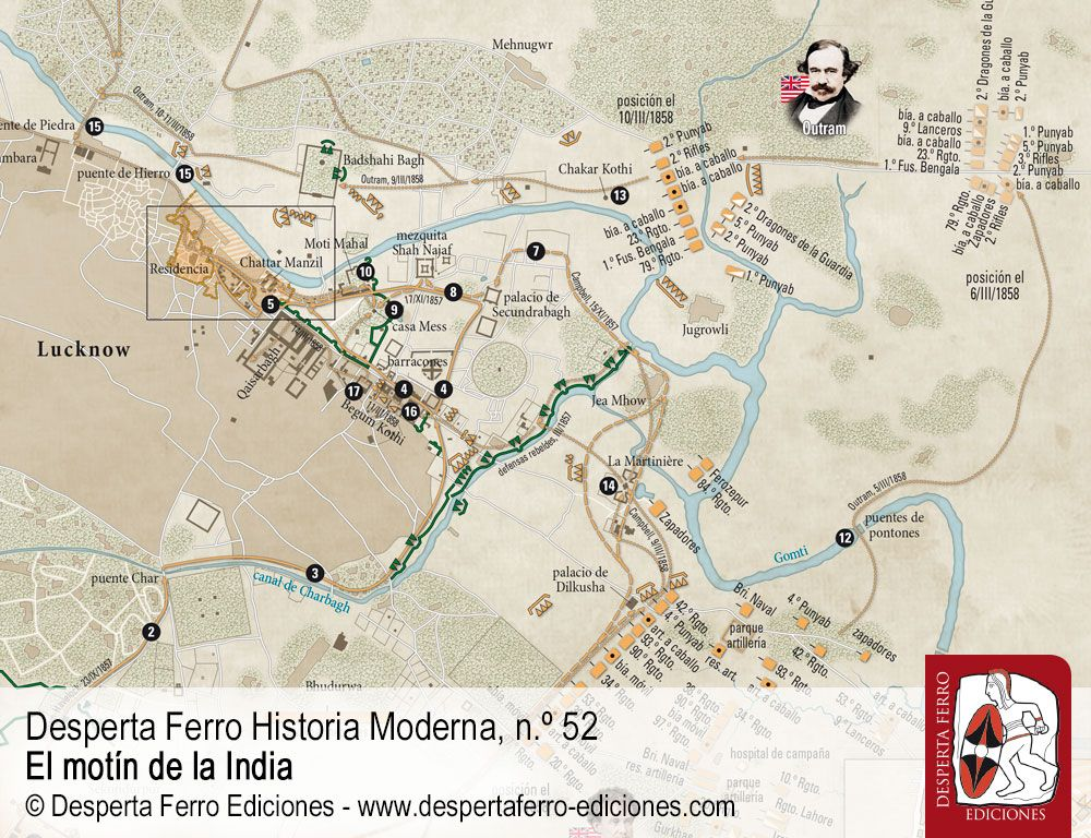 Lucknow. Un asedio, dos socorros y una reconquista por Douglas M. Peers (University of Waterloo)