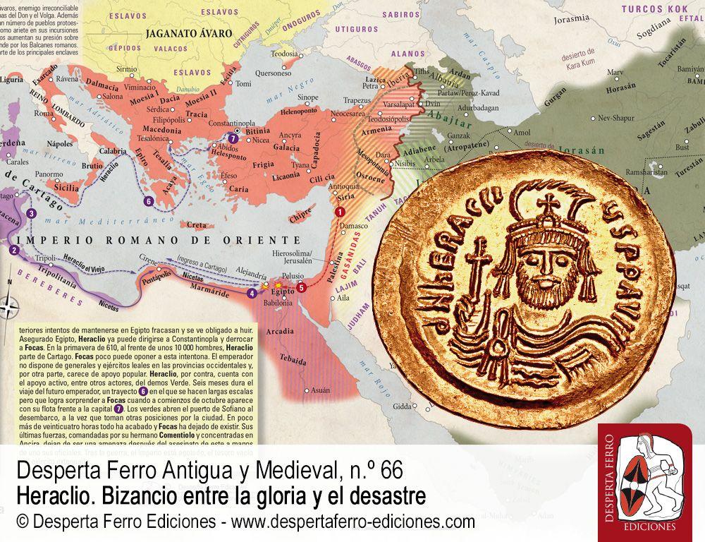El reinado de Heraclio. Del triunfo a la catástrofe por Nadine Viermann (Deutsches Archäologisches Institut, Istanbul)