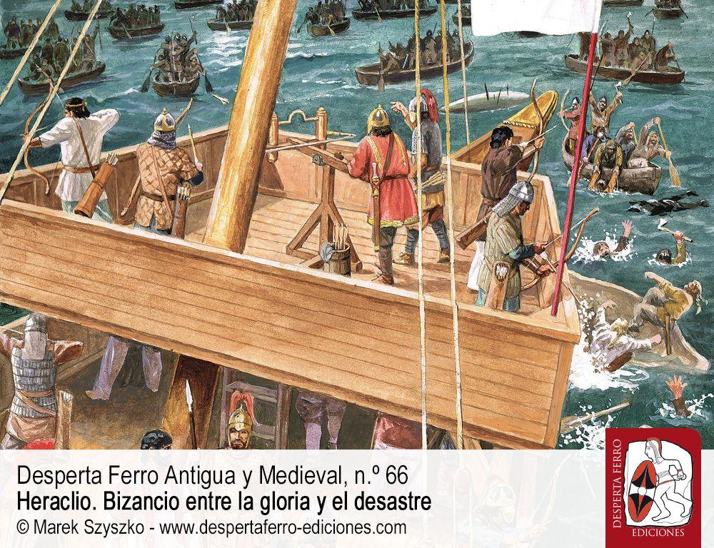 El gran asedio de Constantinopla de 626. Ávaros y persas contra romanos por Miguel Navarro (Universidad de Granada)