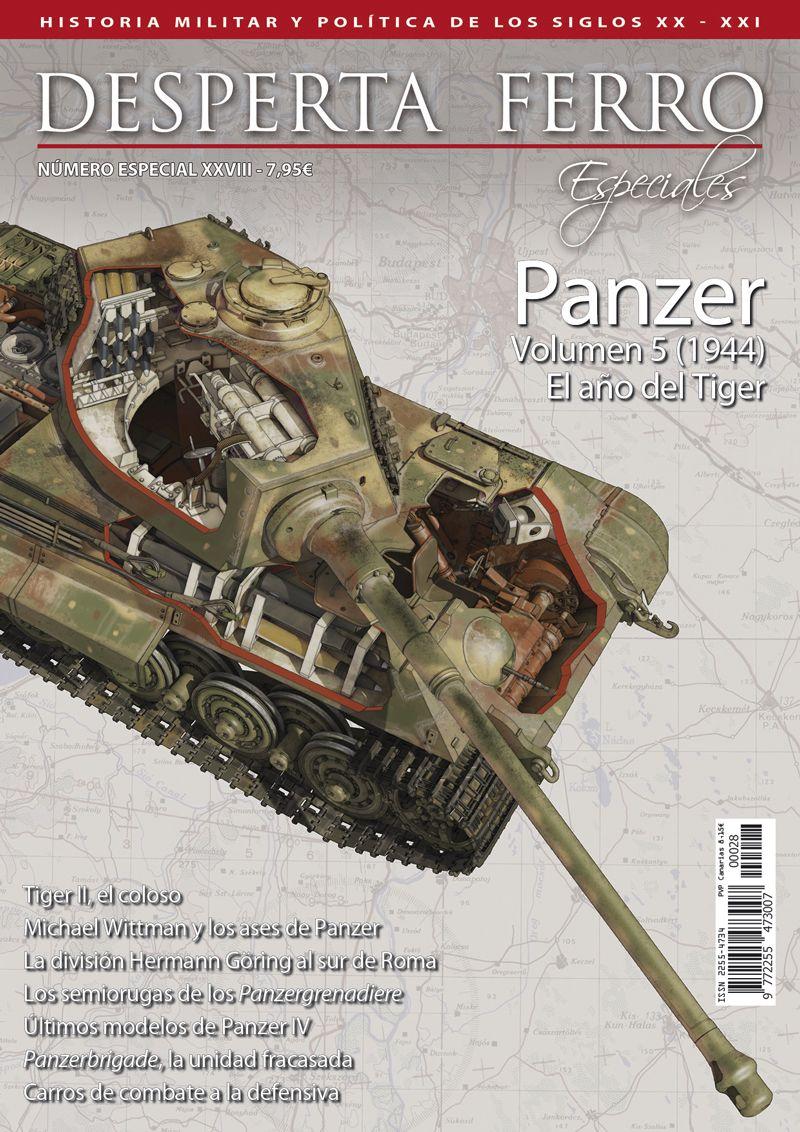 Panzer volumen 5 (1944) El año del Tiger
