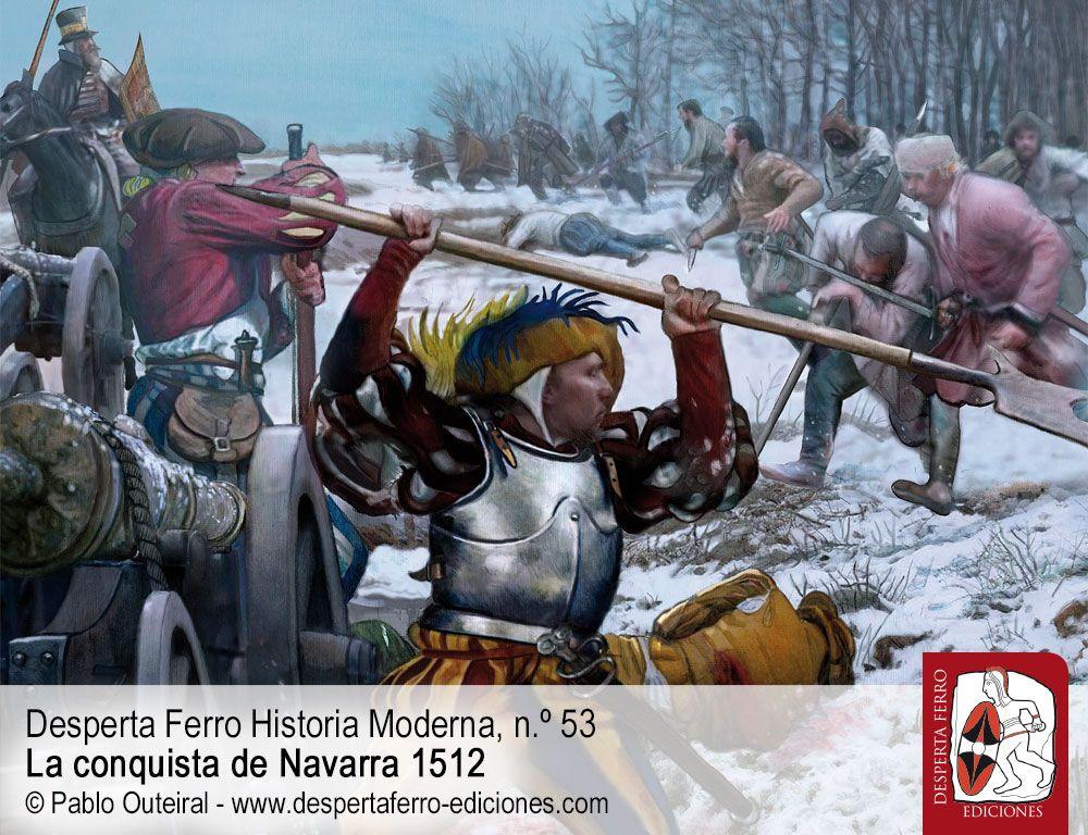 El contraataque franco-navarro y el cerco de Pamplona por Pedro Esarte Muniáin