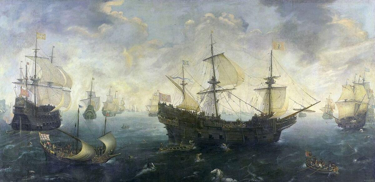 Guerra en el mar. Gran Armada 1588