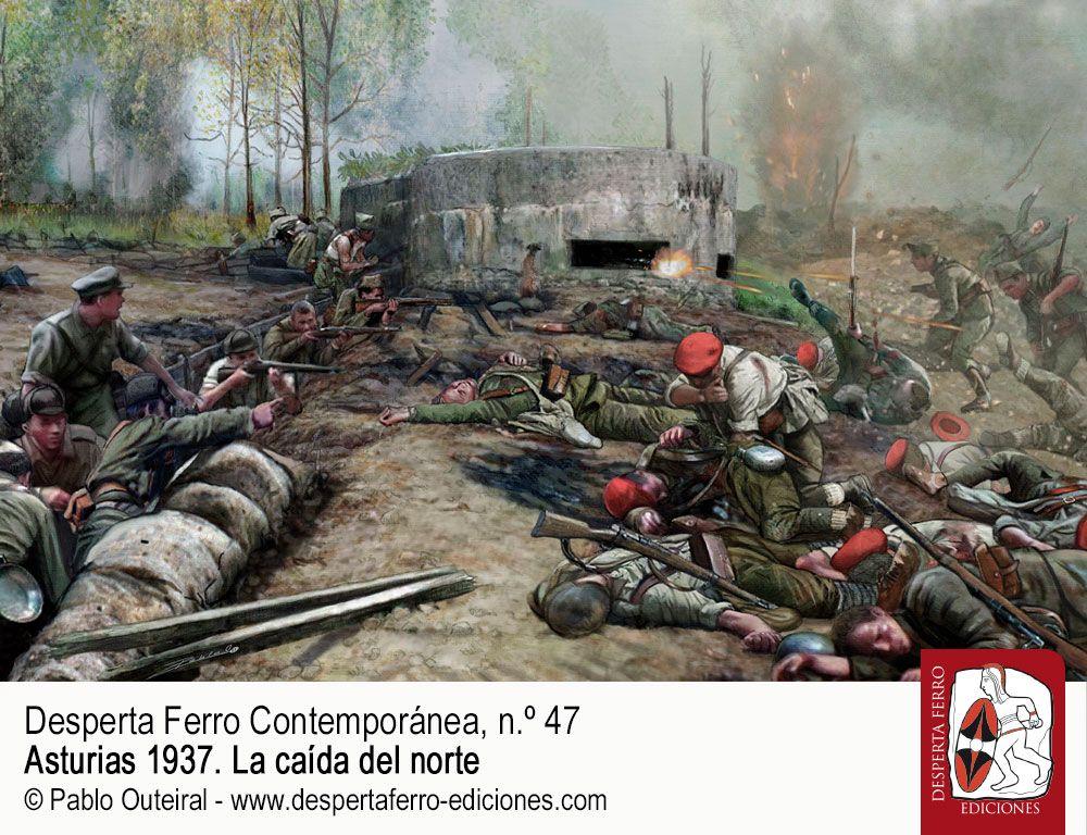 Del Bedón al Sella y la lucha por los puertos por Luis Aurelio González Prieto Asturias 1937