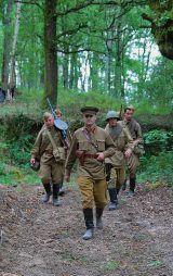 recreación histórica rusos urss segunda guerra mundial